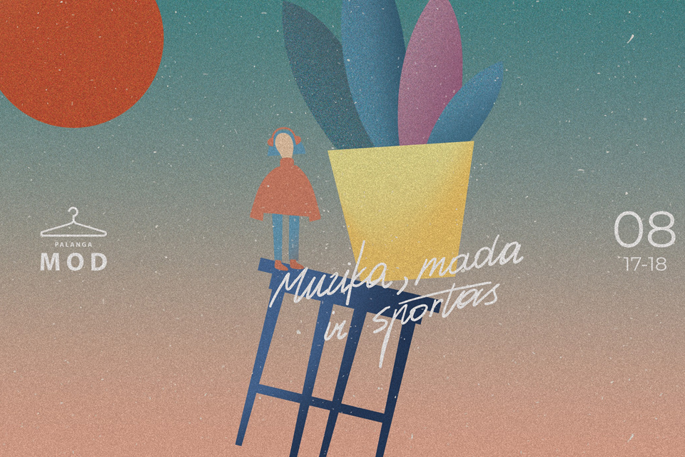"""""""Palanga MOD 2019″: dvi dienos mados, muzikos, kūrybos ir kūno kultūros"""