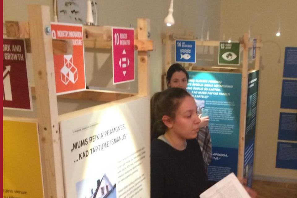 Jūrų muziejuje – paroda apie Švedijos priimtą iššūkį
