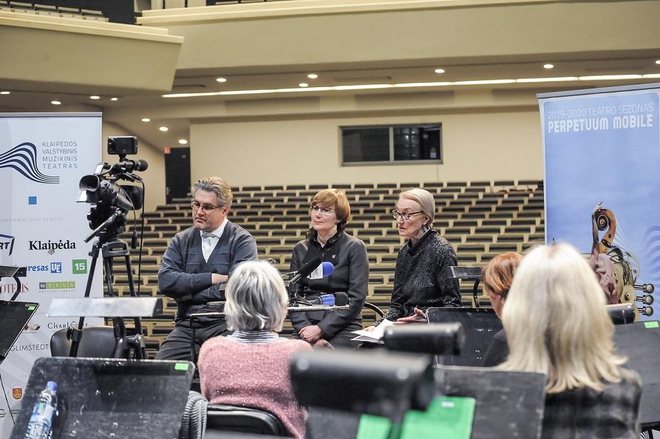 Klaipėdos muzikinio teatro 200 metų jubiliejui – nauji iššūkiai