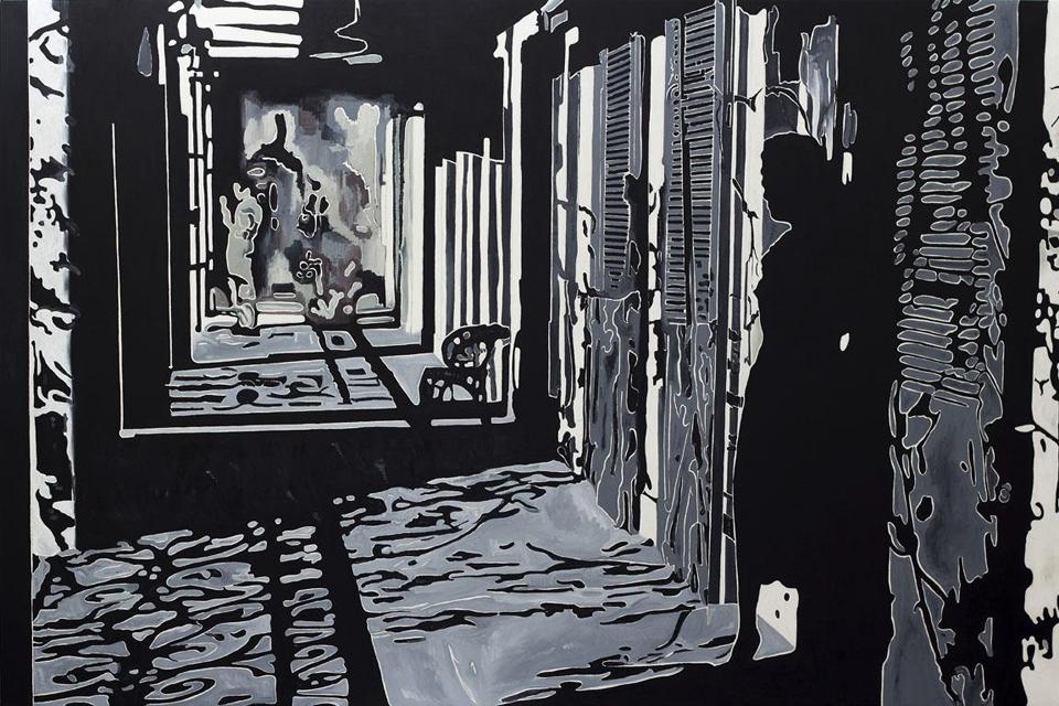 Parodų rūmuose – intriguojanti Pietro Finelli instaliacija