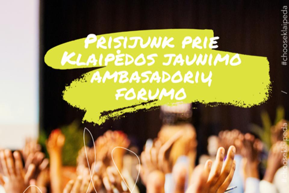 Klaipėdoje – jaunimo ambasadorių forumas