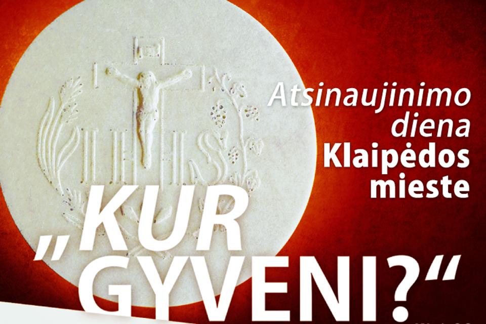Rengia jau ketvirtąją Atsinaujinimo dieną