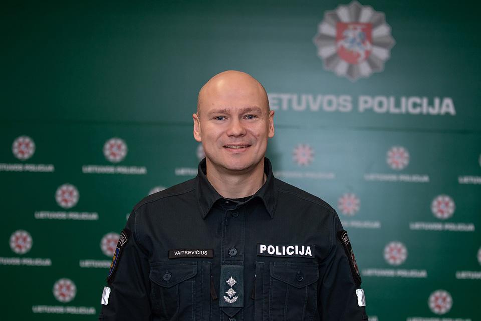 Raimondas Vaitkevičius laikinai vadovaus Telšių policijai