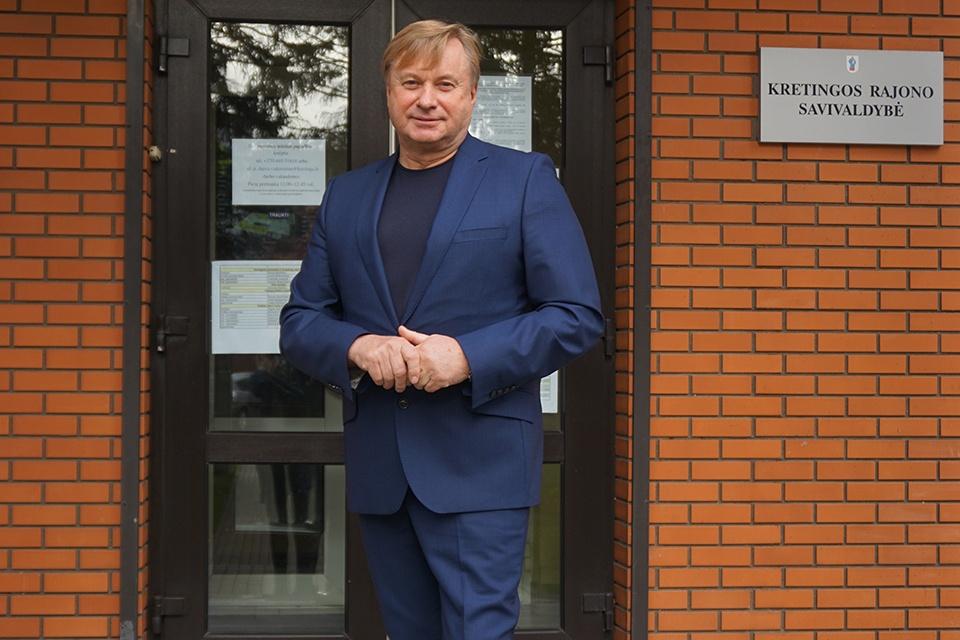Romaldas Sakalauskas vadovaus Kretingos ligoninei