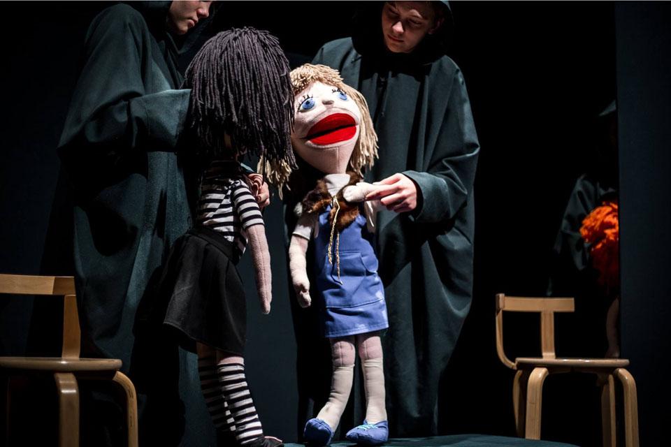 """Vaikų lėlių teatrų festivalis  """"Šalpusnis"""": nauja karta auga"""