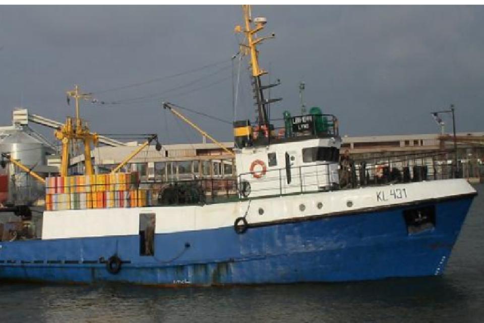 Prie jūros vartų – girta žvejybinio laivo įgula