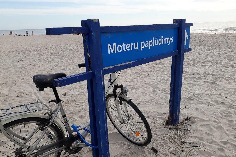 Smiltynės paplūdimy – gyvatės?!