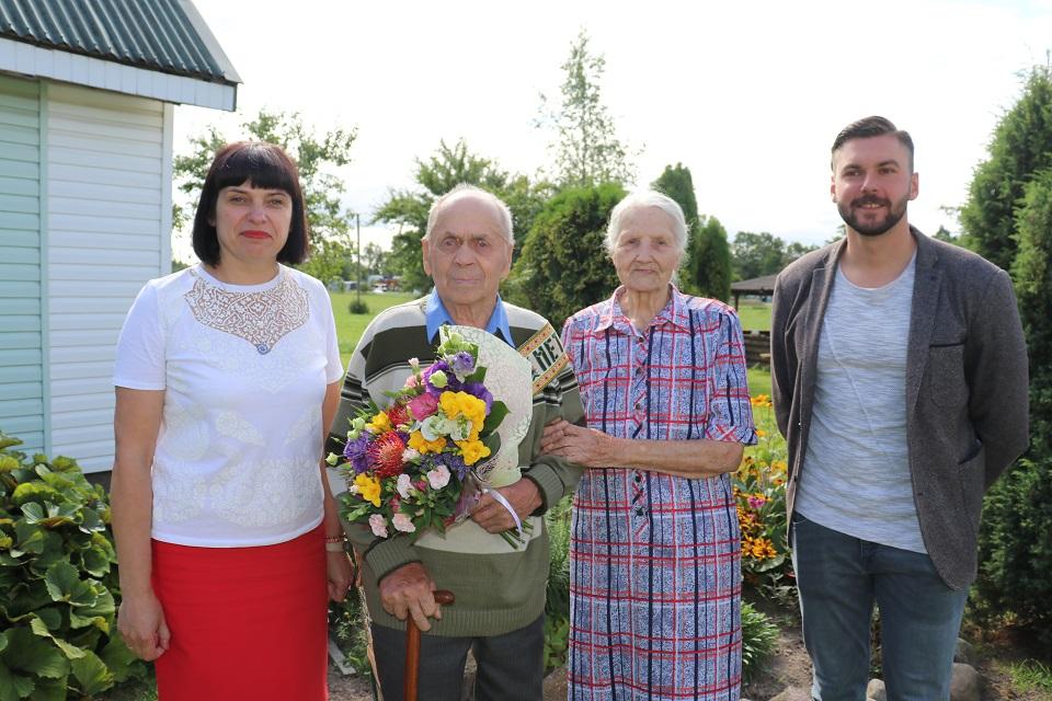 Buvęs kelininkas atšventė 90-metį