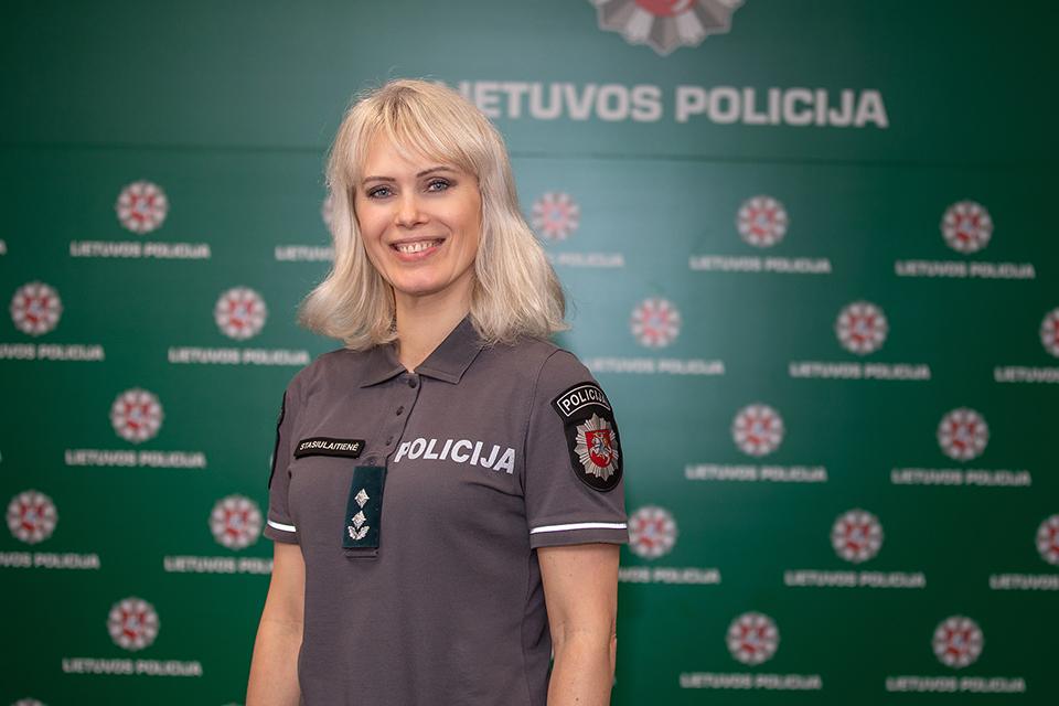 Tarnybą baigia Klaipėdos rajono policijos komisariato viršininkė