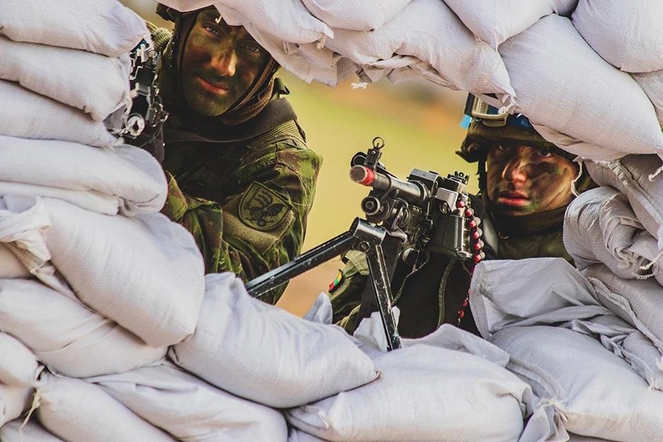 Pajūryje – karių pratybos