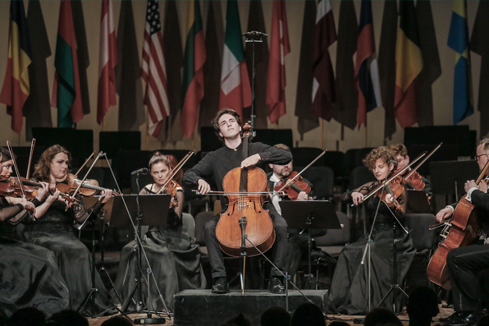 Festivaliui suteiks violončelininko Davido Geringo vardą