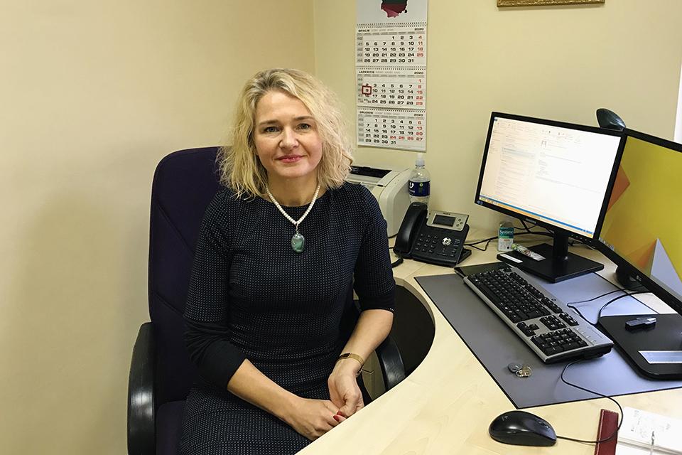 Į Klaipėdos apylinkės teismą sugrįžo teisėja Ingrida Krušienė