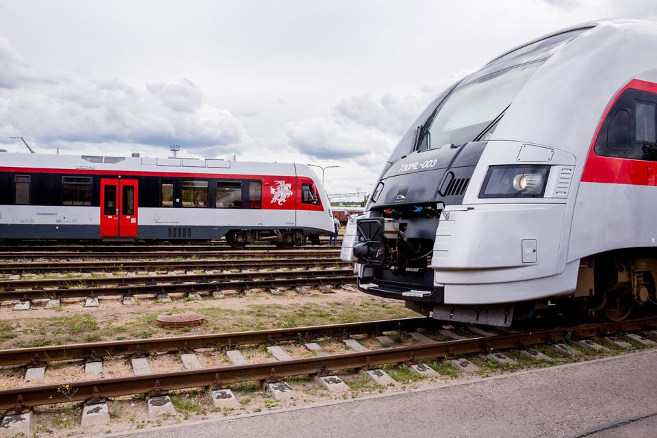 Į Klaipėdą ir iš jos traukiniai veš kitaip