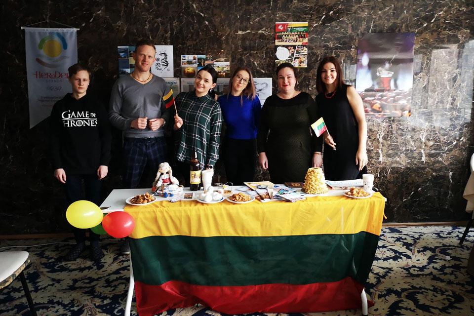 Turkijoje pristatė Lietuvos kultūrą, paveldą ir laisvės dvasią