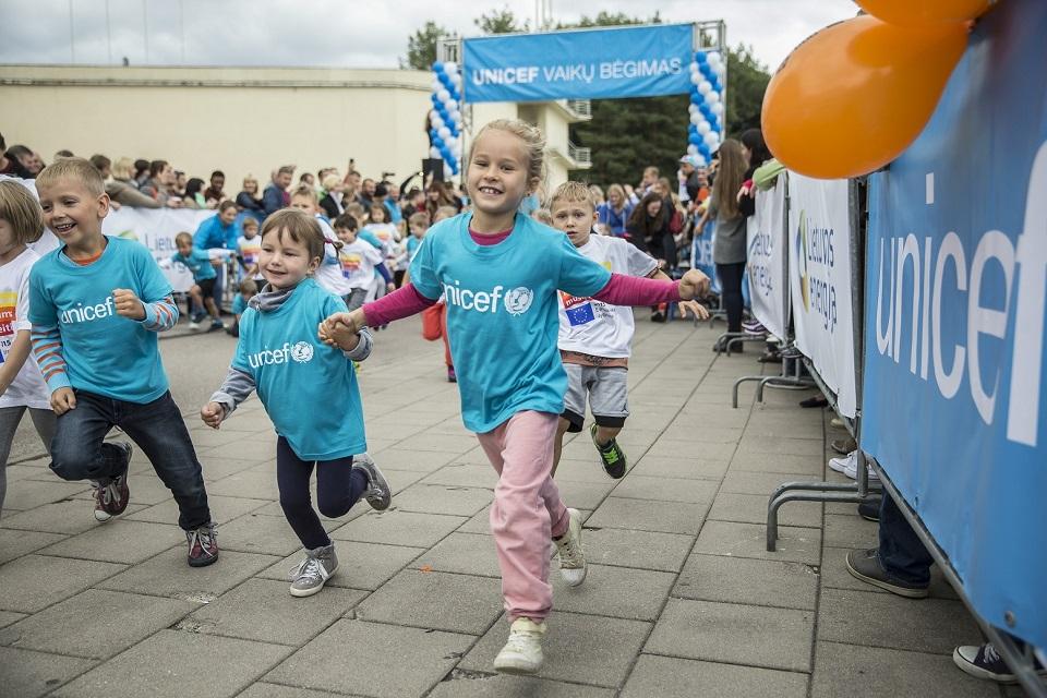 UNICEF bėgimas – ir Klaipėdoje