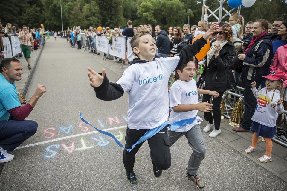 Kretingoje – UNICEF vaikų bėgimas