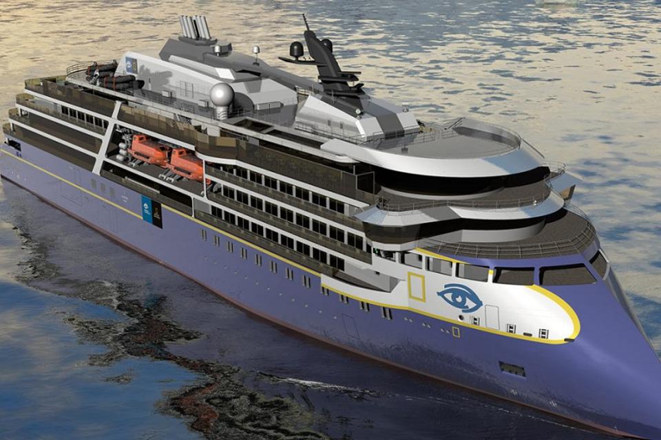 Klaipėdoje stato didžiausio pasaulyje ekspedicinio laivo antstatą