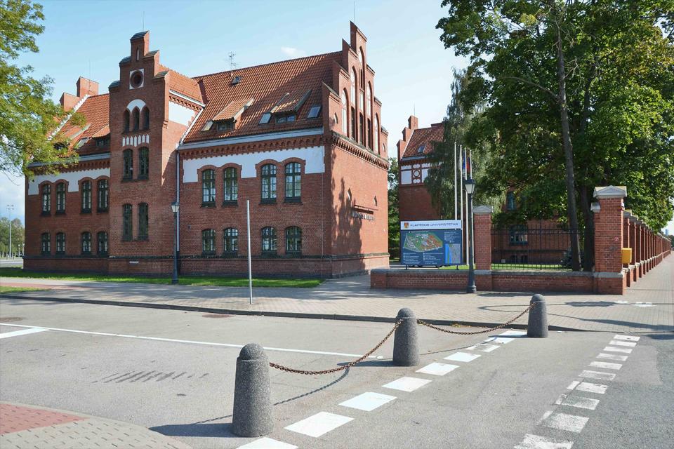 Pristatė Klaipėdos universiteto iššūkius