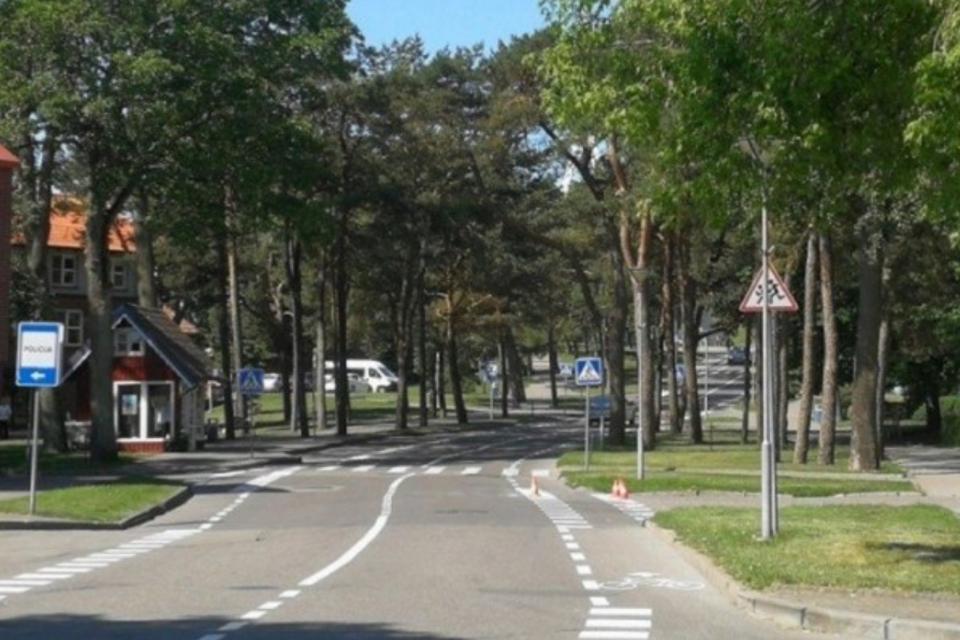 Nidoje rekonstruos Taikos gatvę
