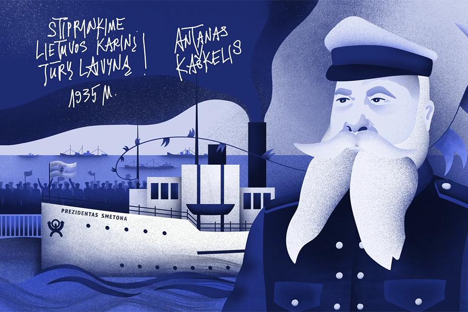 Antanas Kaškelis – kapitonas su bene margiausia ir karingiausia biografija