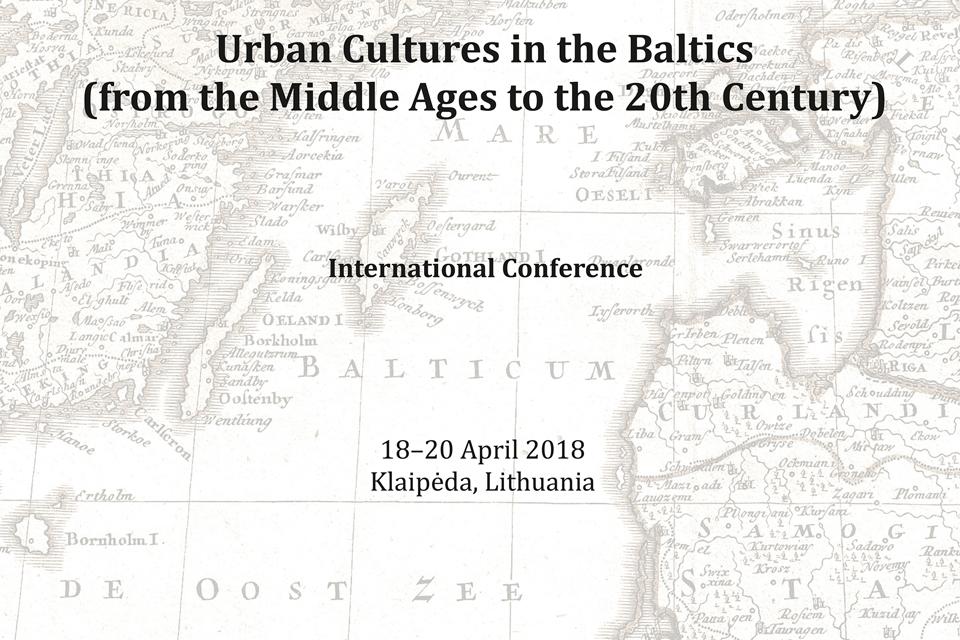 Miestų kultūrų tyrinėtojai rinksis į Klaipėdą