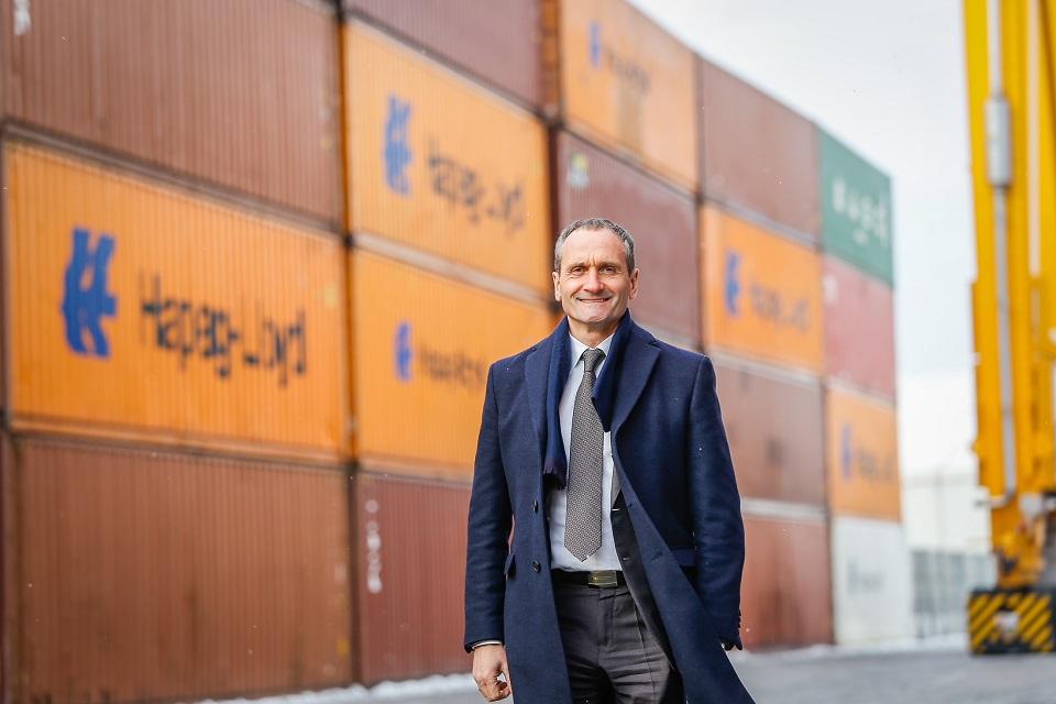 Išrinktas naujas Lietuvos jūrų krovos kompanijų asociacijos prezidentas
