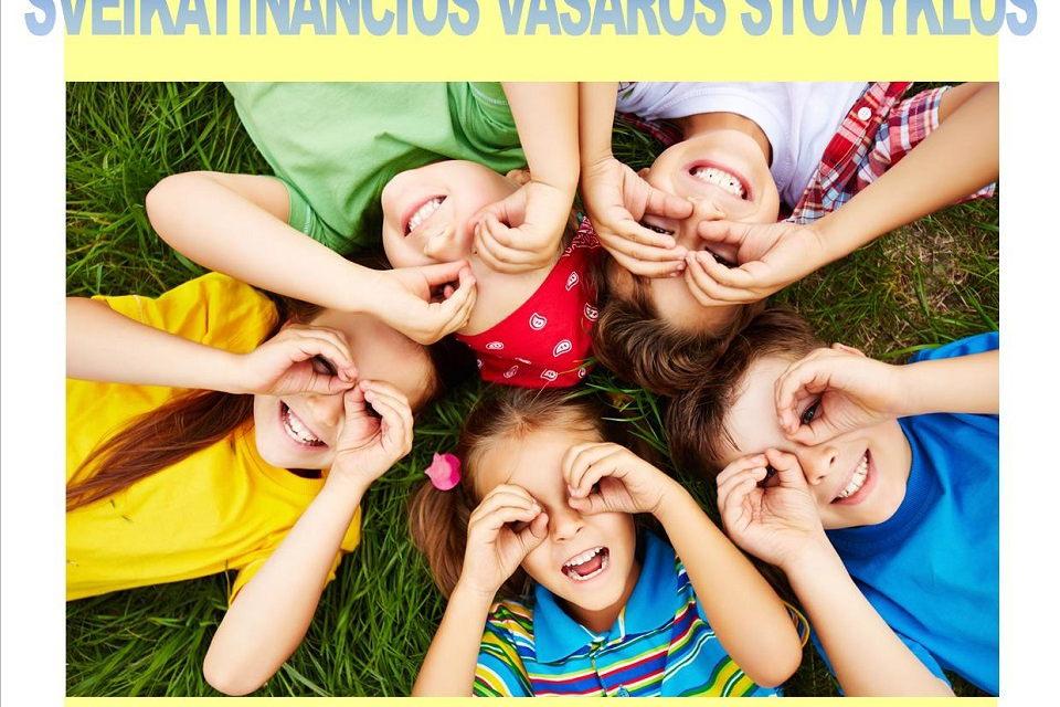 Kviečia 7-12 metų vaikus į nemokamas vasaros stovyklas