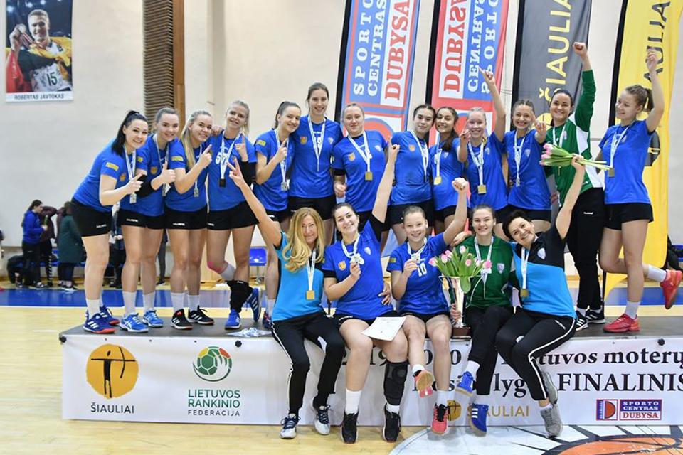 """""""Viesulo SC-Dragūnas"""" – pirmos moterų lygos čempionės"""