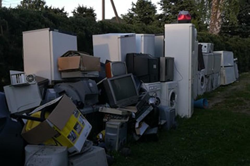 Vydmantiškiai surinko daugiausia elektronikos ir baterijų atliekų