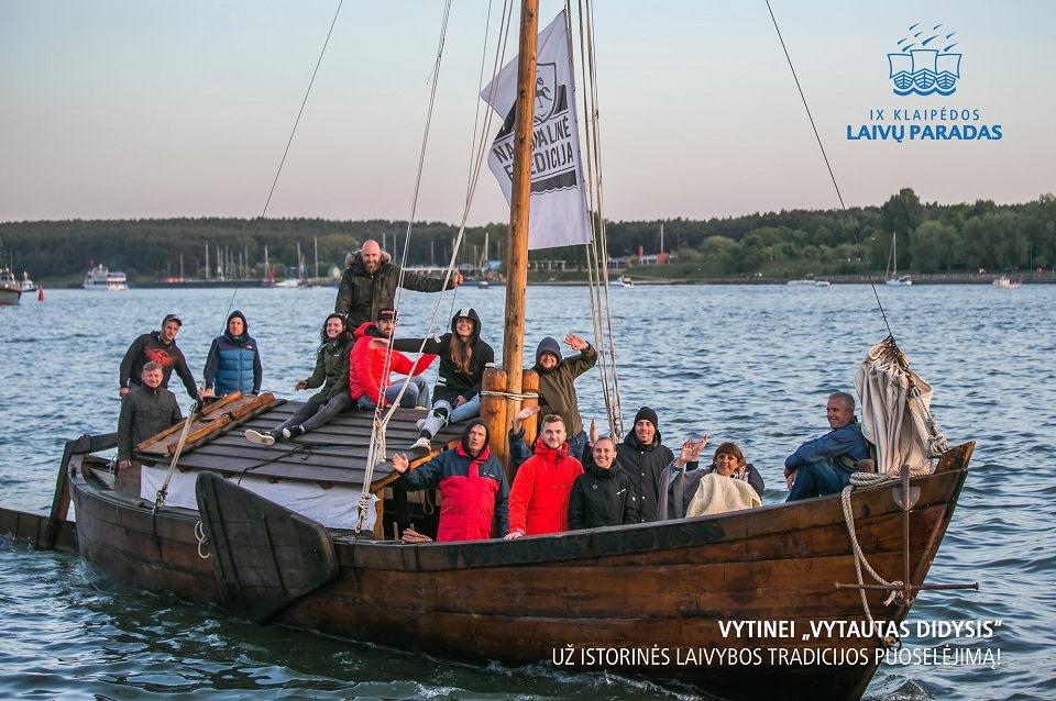 """Laivų paradą ves """"Vytautas Didysis"""""""