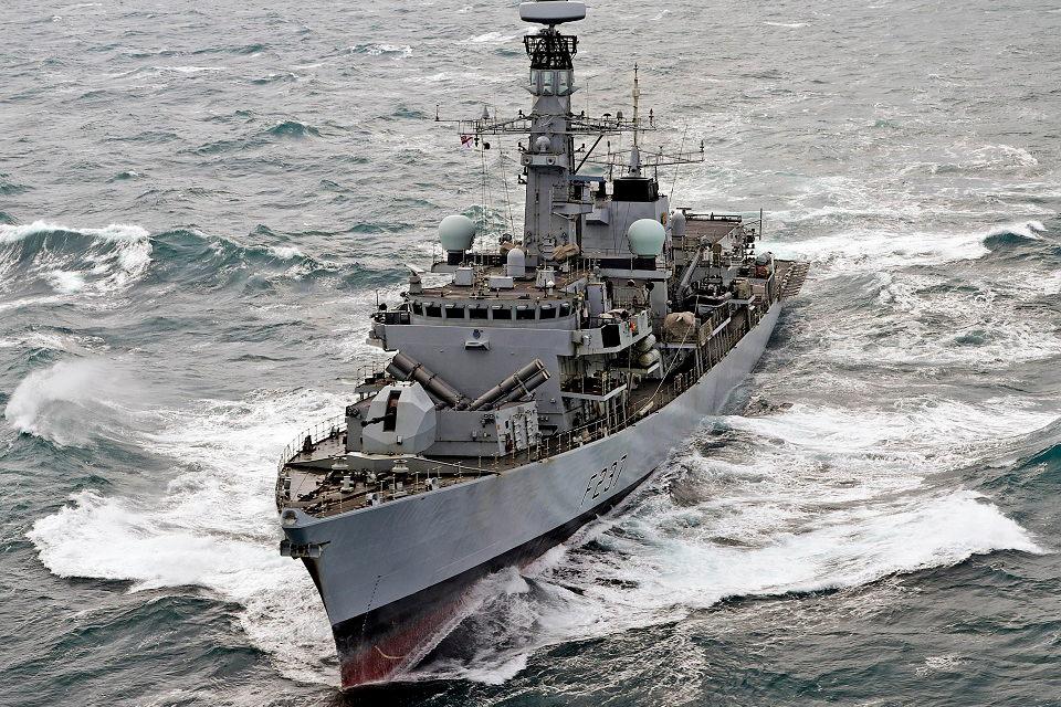 Jungtinės Karalystės karo fregata į Klaipėdą nebeužsuks