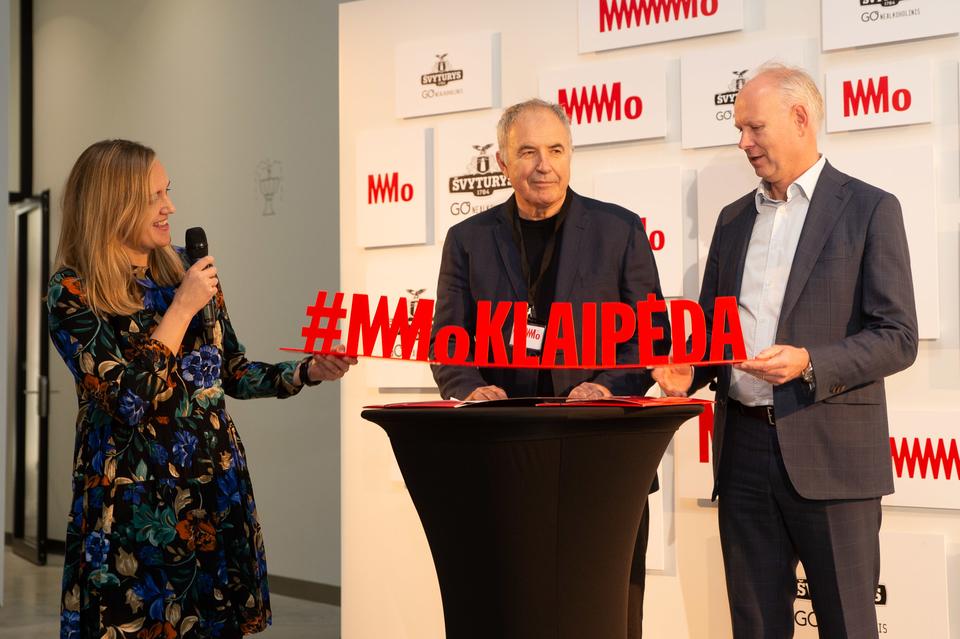 MO muziejus pažadėjo ekspoziciją Klaipėdoje