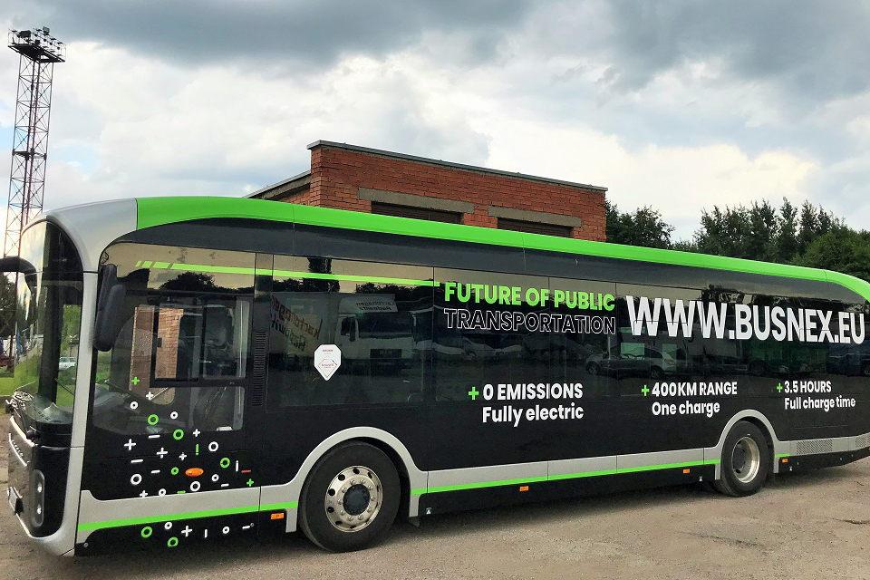 Klaipėdoje išbandys kitokį elektrinį autobusą