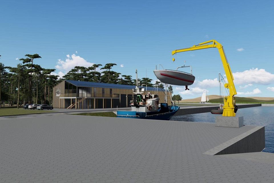 Startuoja Šventosios uosto  atstatymo darbai