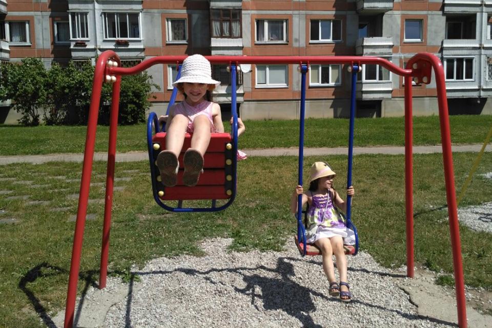 Naujos žaidimų aikštelės – iki rudens