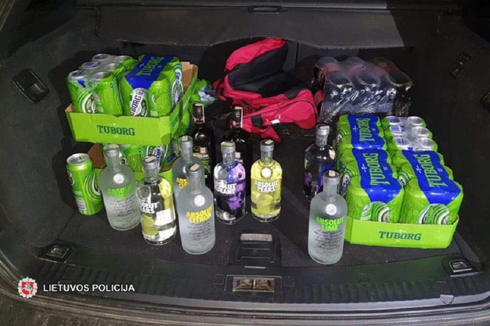 Už neteisėtą prekybą alkoholiu – solidžios baudos