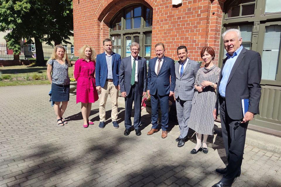 Klaipėdos universitete lankėsi Ispanijos ambasadorius