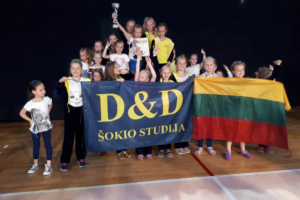 Klaipėdiečiai šokėjai – pasaulio čempionai!