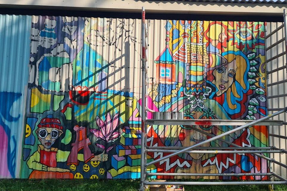 """""""Art gates"""": nuo gatvės meno iki baleto improvizacijų"""