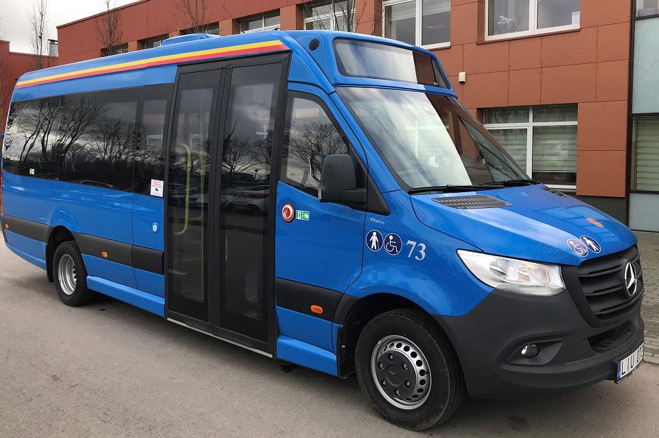 Uostamiestyje – 12 naujų mažųjų autobusų