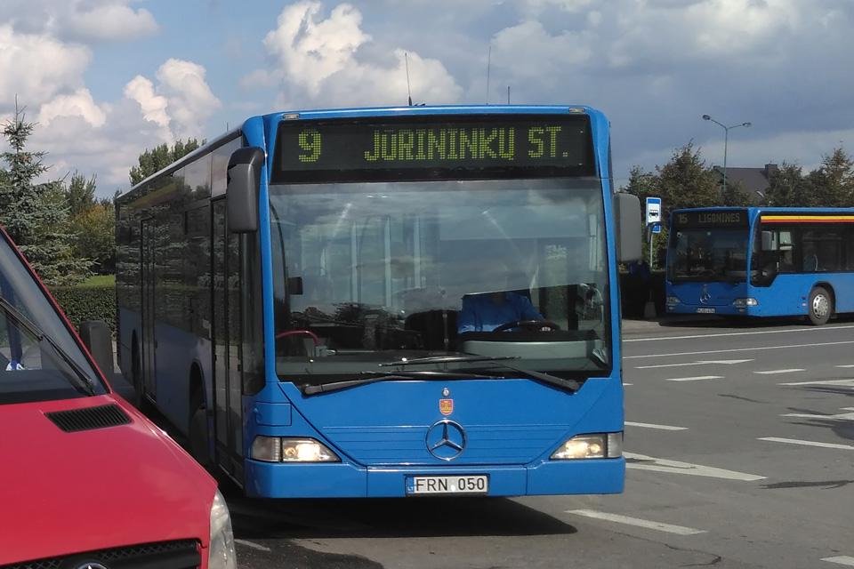 Kondicionuojama tik ketvirtadalis viešojo transporto