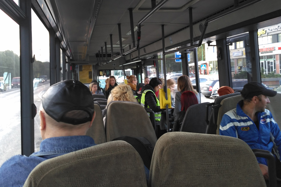 Autobusai į kapines veš dažniau