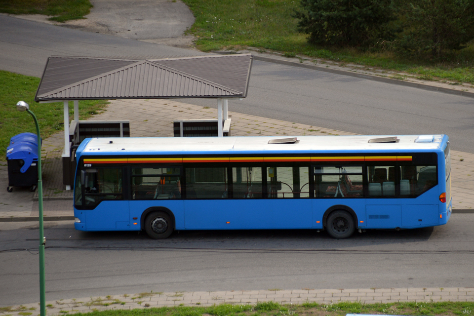 Dalis autobusų po pietų važiuos lėčiau