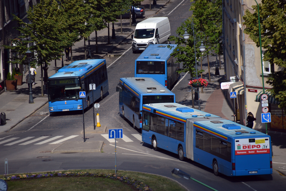 Nuo sekmadienio – nauji autobusų grafikai