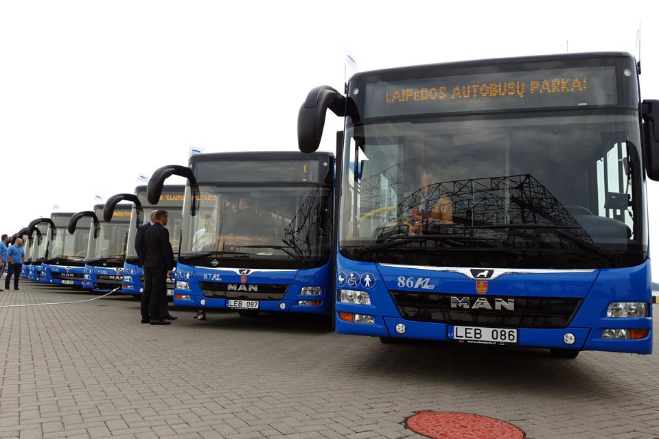 Nuo pirmadienio Klaipėdoje kursuos 18 naujų autobusų