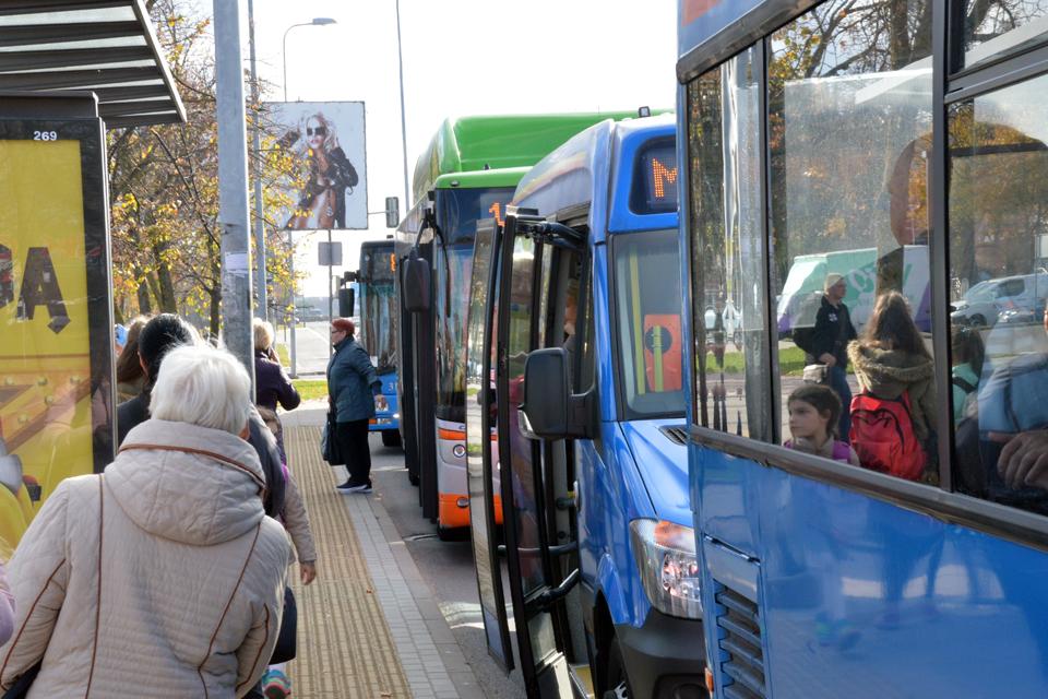 Klaipėdoje autobusai dažniau veš nemokamai