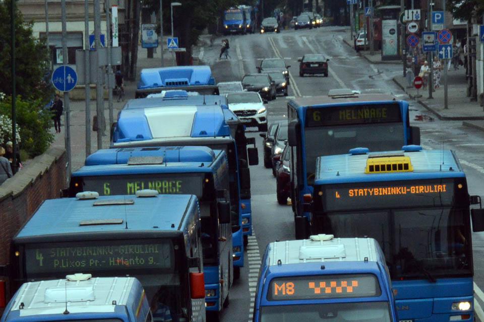 Nuo pirmadienio – pokyčiai viešajame transporte
