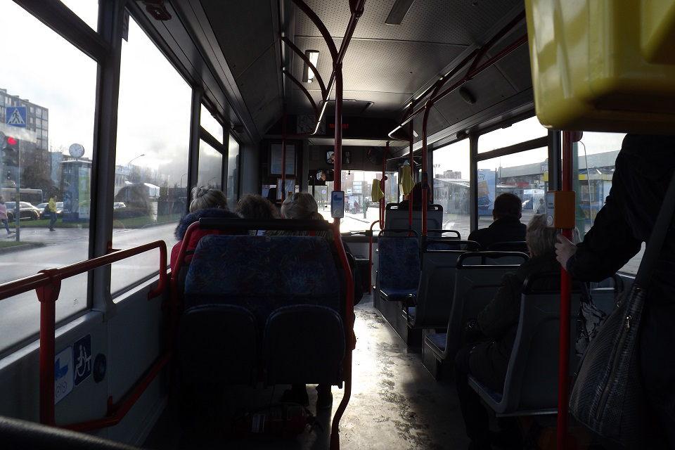 Autobuse paliko du pistoletus