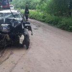 Per avariją Kretingos rajone sužaloti trys žmonės