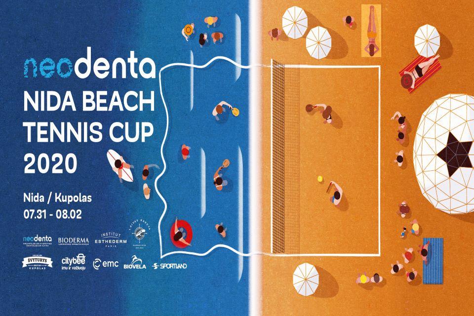 Nidoje vyksiančiame paplūdimio teniso turnyre pasirodys pasaulinės žvaigždės